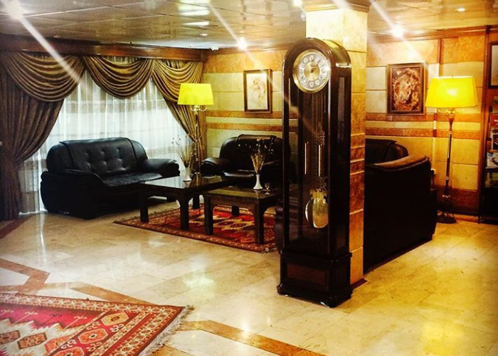 لابی هتل آپارتمان ایده آل تهران