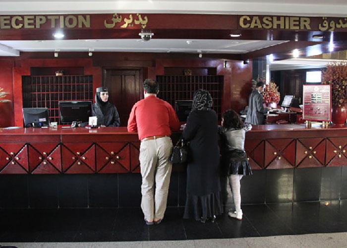 لابی هتل پارس تبریز