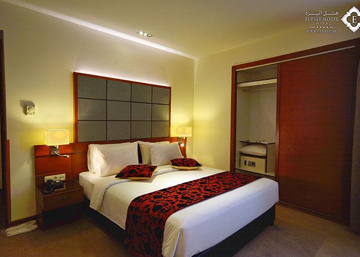 دو تخته هتل الیزه شیراز