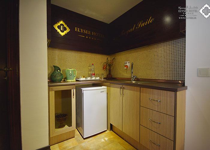 آشپزخانه هتل الیزه شیراز