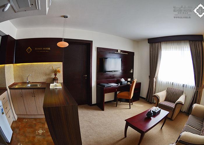 سوئتی هتل الیزه شیراز