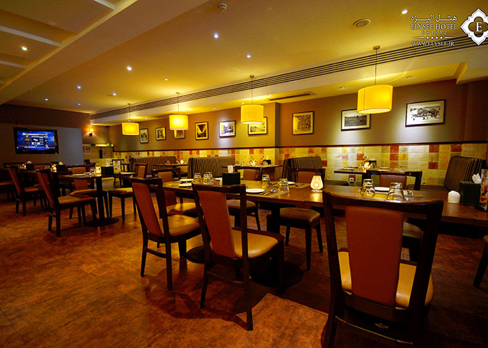عکس رستوران مارلین هتل الیزه شیراز