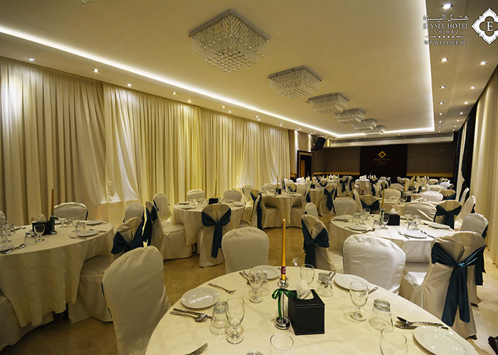 سالن ضیافت هتل الیزه شیراز