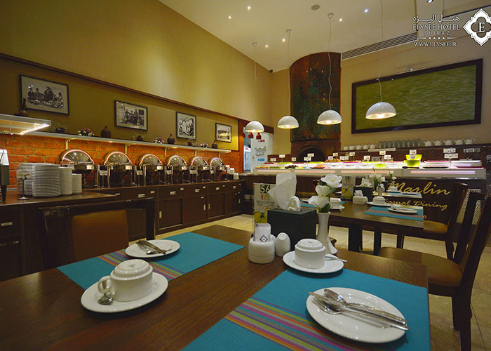 تصاویر رستوران مارلین هتل الیزه شیراز