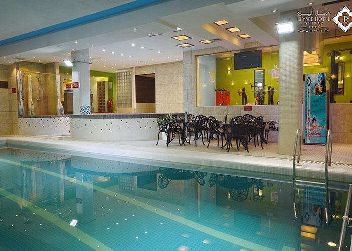 عکس مجموعه ورزشی هتل الیزه شیراز