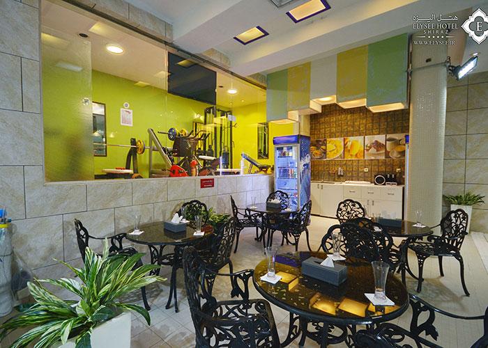 مجموعه ورزشی هتل الیزه شیراز