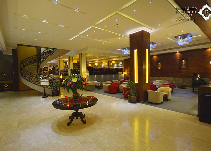لابی لانژ هتل الیزه شیراز