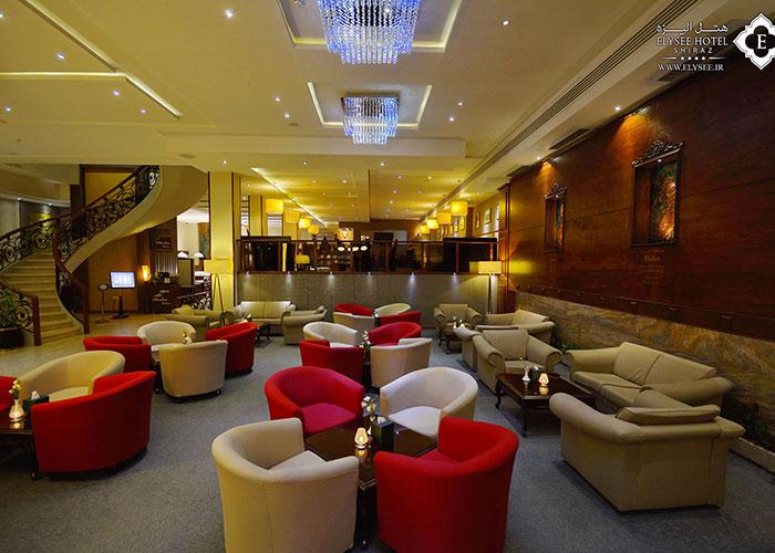 تصاویر لابی لانژ هتل الیزه شیراز