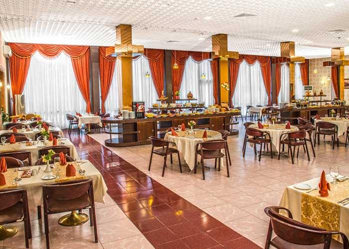تصاویر رستوران هتل پارسیان انقلاب تهران