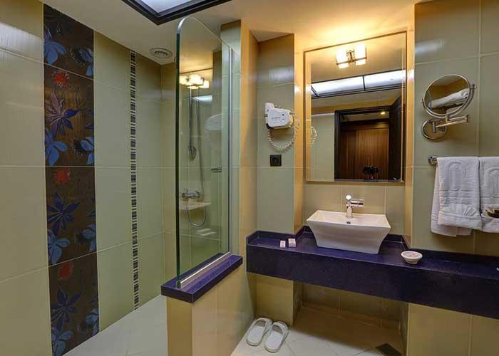سرویس بهداشتی اتاق هتل پارسیان انقلاب تهران