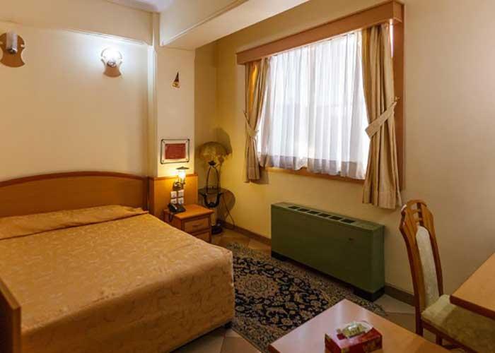اتاق های هتل ارم شیراز