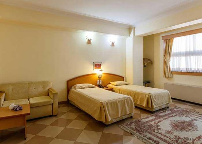 عکس اتاق های هتل ارم شیراز