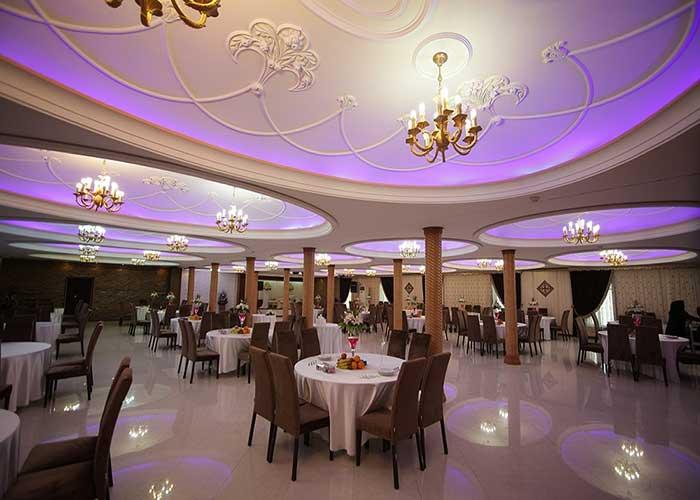 تالار فیروزه هتل ارم تهران