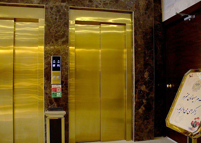 آسانسور هتل آپارتمان اریکا مشهد
