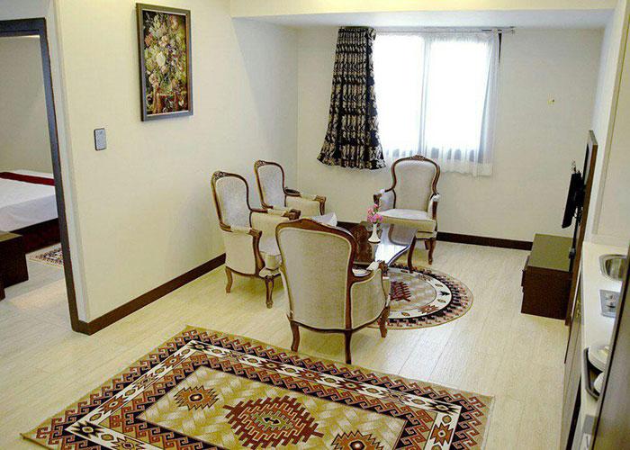 نشیمن هتل آپارتمان اریکا مشهد