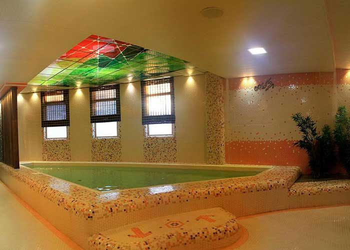 آب گرم هتل آپارتمان ارشاد سرعین