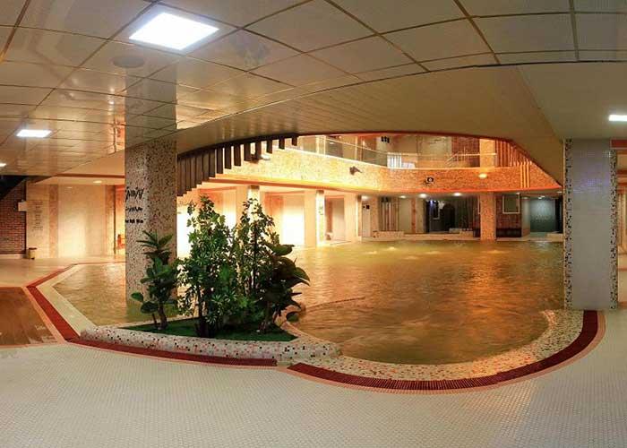 آب گرم هتل ارشاد سرعین