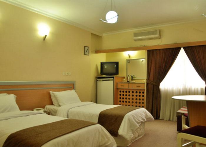 اتاق های هتل اصفهان