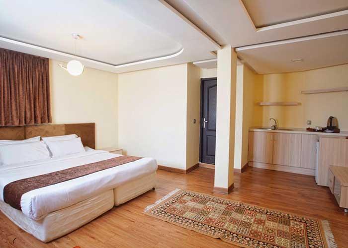 اتاق های دبل هتل اصفهان