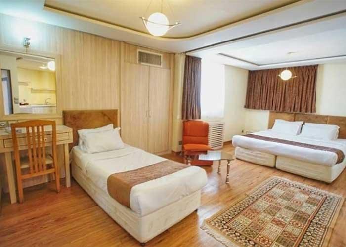 سه تخته هتل اصفهان