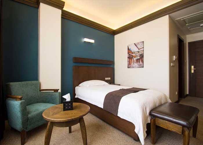 اتاق یک تخته هتل اسکان الوند تهران