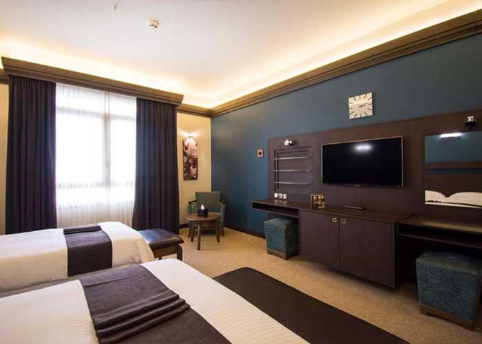اتاق سه تخته هتل اسکان الوند تهران