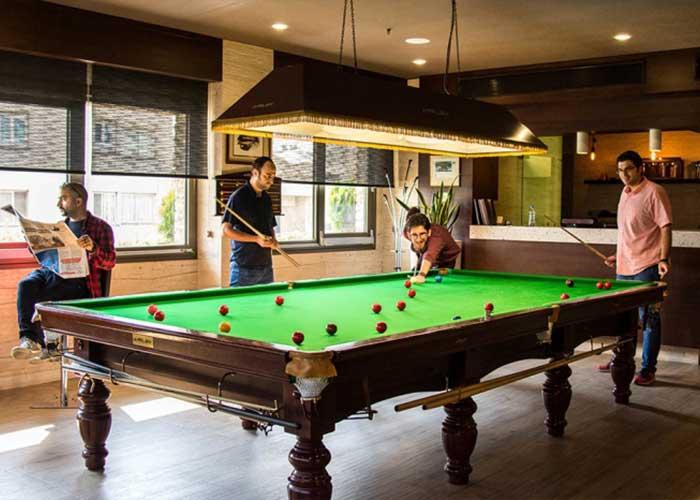 اسنوکر هتل اسکان الوند تهران