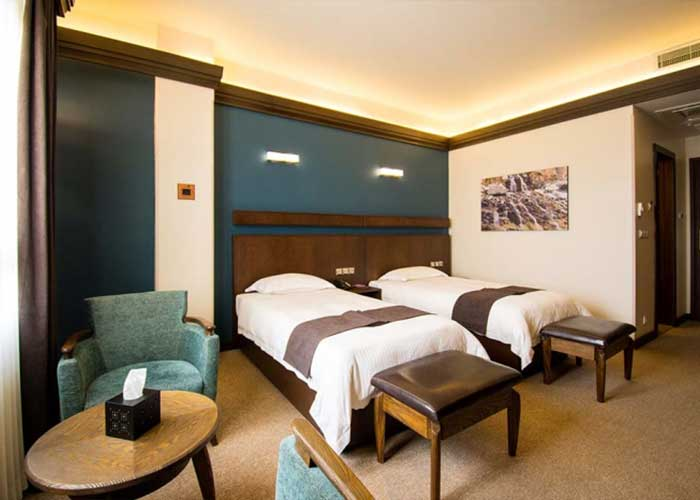 اتاق دو تخته توئین هتل اسکان الوند تهران