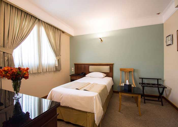 اتاق یک تخته هتل اسکان تهران