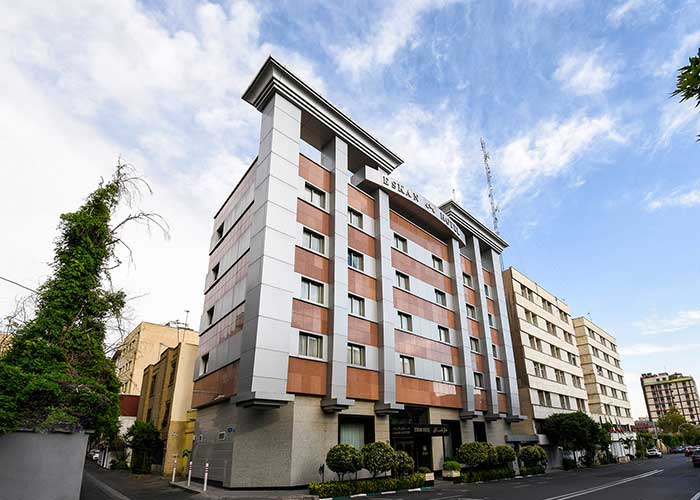 ساختمان هتل اسکان تهران