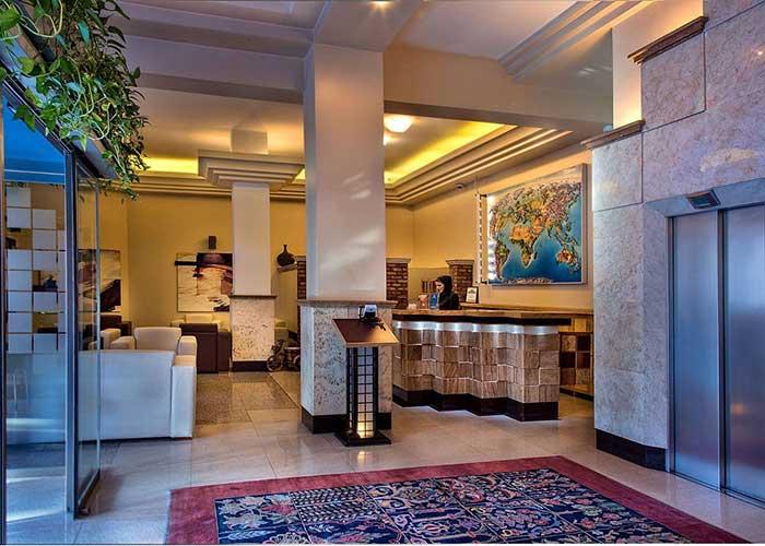 لابی هتل اسکان تهران