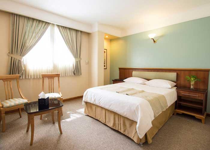 اتاق دو تخته هتل اسکان