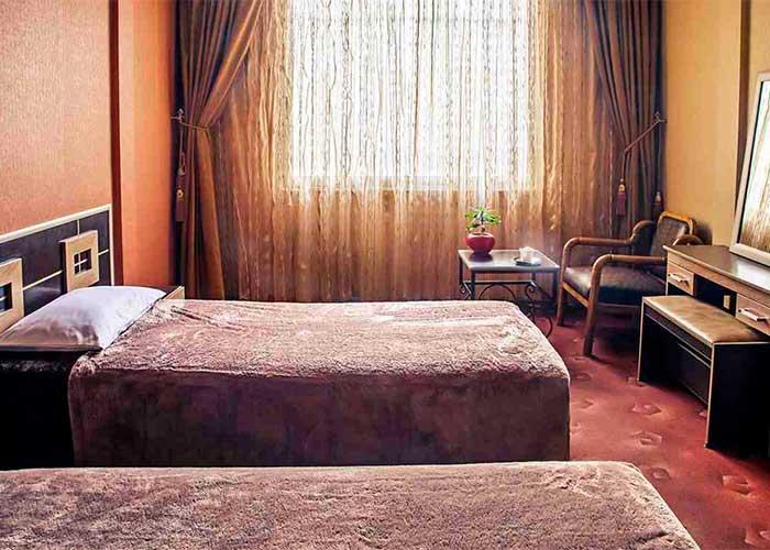 دو تخته هتل اسپادانا اصفهان