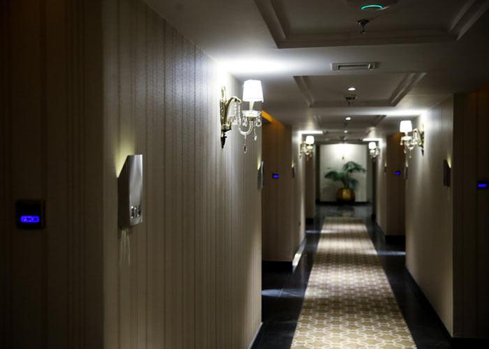 راهرو هتل اسپیناس پالاس تهران