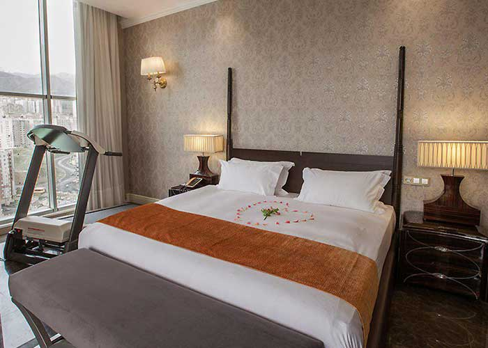 اتاق سوئیت پرزیدنت هتل اسپیناس پالاس تهران