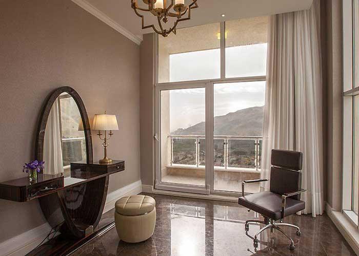 تصاویر سوئیت پرزیدنت هتل اسپیناس پالاس تهران