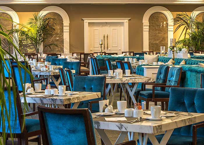 رستوران لاتون هتل اسپیناس پالاس تهران