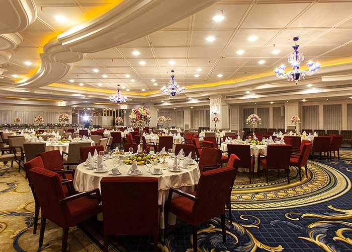 سالن مراسم هتل اسپیناس پالاس تهران