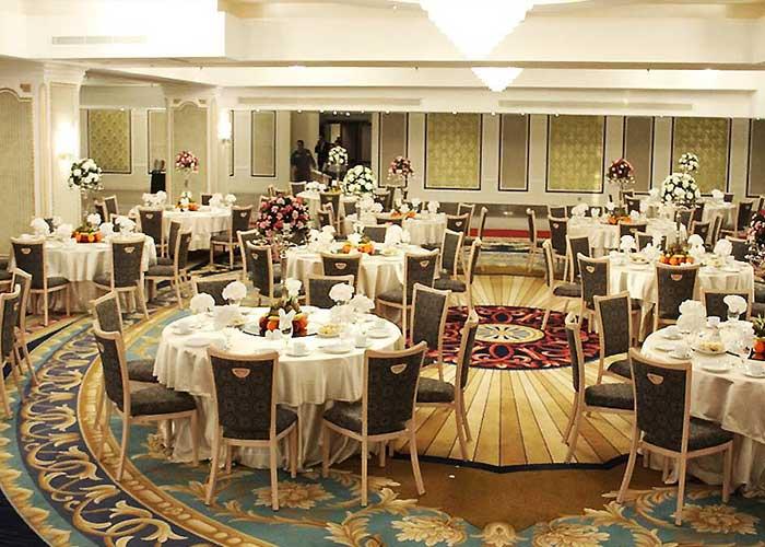 عکس سالن مراسم هتل اسپیناس پالاس تهران