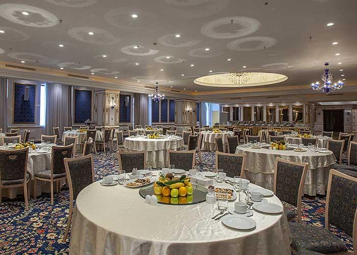 تصاویر سالن مراسم هتل اسپیناس پالاس تهران
