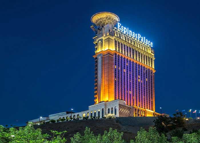 ساختمان هتل اسپیناس پالاس
