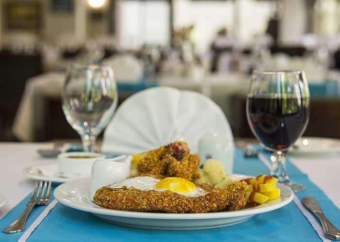 غذای هتل اسپیناس بلوار کشاورز