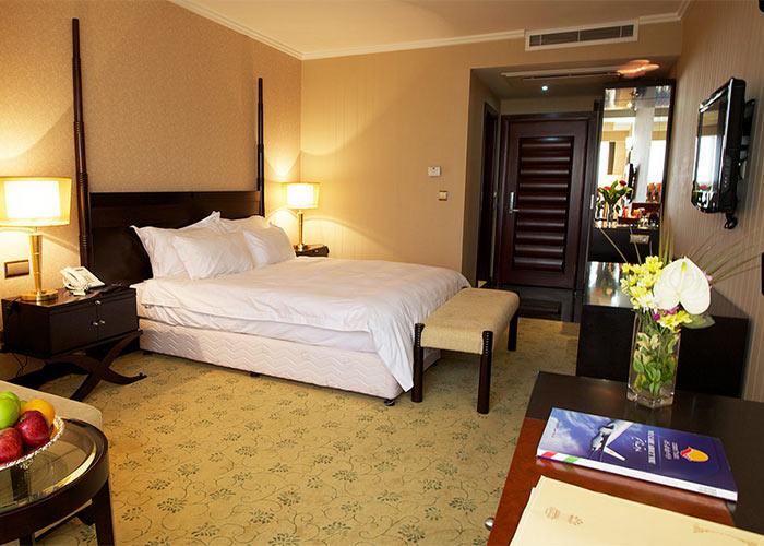 اتاق دو تخته هتل اسپیناس