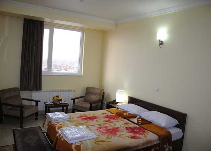 اتاق دو تخته دبل هتل آپارتمان استقبال تبریز