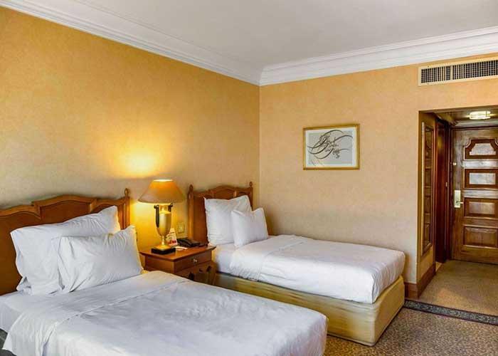 اتاق دو تخته توئین هتل استقلال تهران