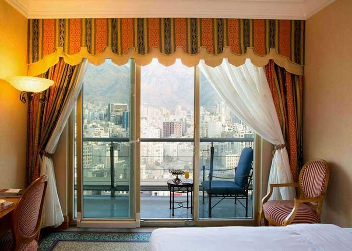 نمای اتاق هتل استقلال تهران