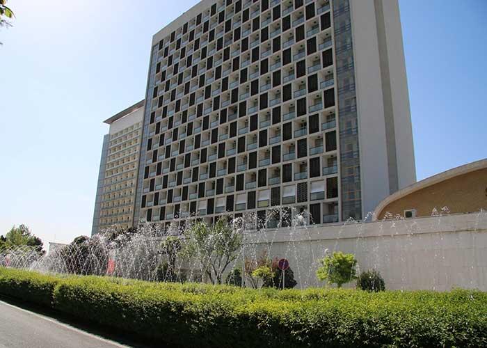 ساختمان هتل استقلال تهران