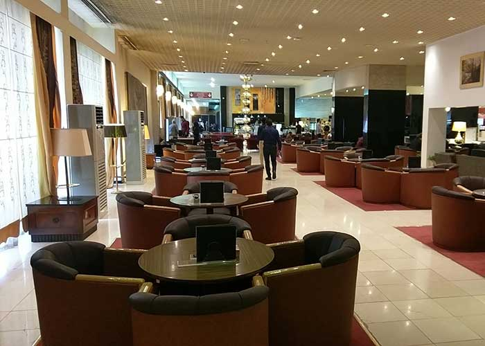 لابی هتل استقلال تهران