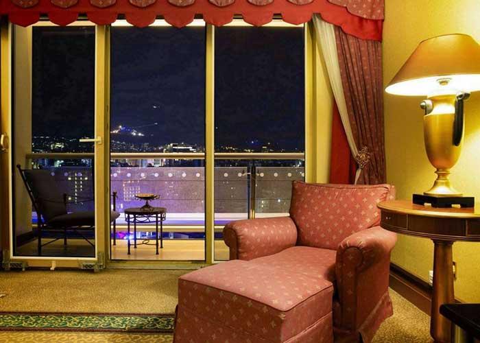 مبلمان اتاق هتل استقلال تهران