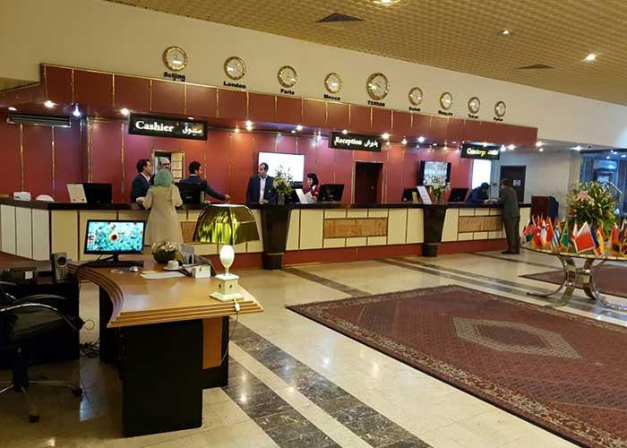 پذیرش هتل استقلال تهران